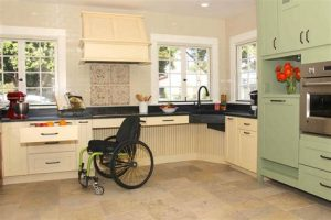 kitchen for handicap